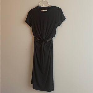 Abercrombie black dress. XS